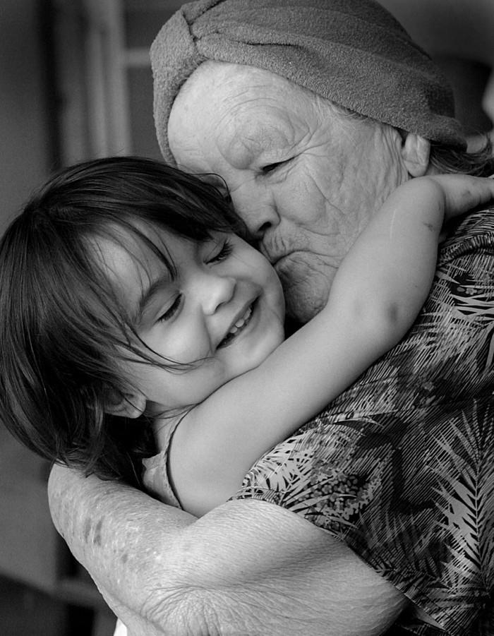 kind und oma
