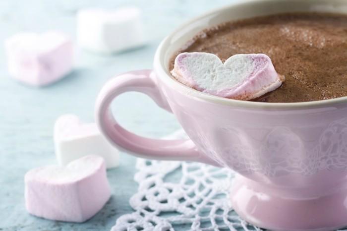 Valentinstagsgeschenk Ideen Mäusespeck Herzen Kaffee