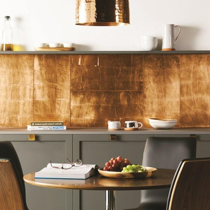 wanddesign ideen in der küche ausgefallene küchenfliesen
