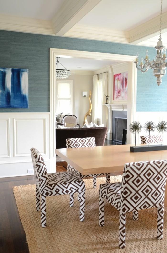 esszimmer wanddesign konzept. Black Bedroom Furniture Sets. Home Design Ideas