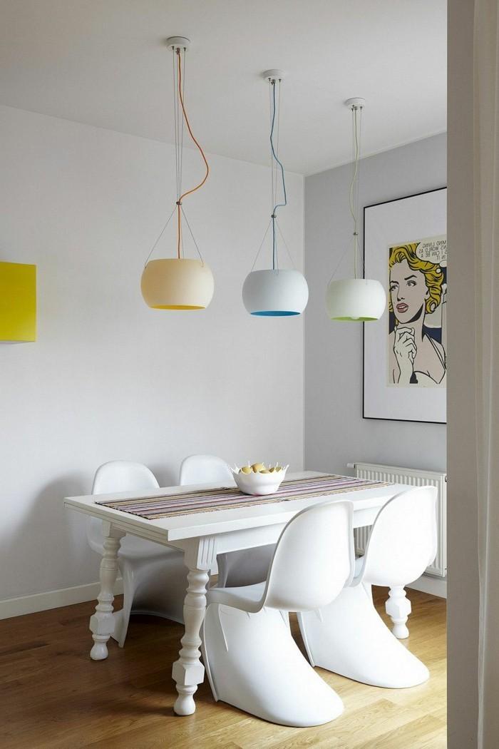 wandgestaltung ideen wohnideen esszimmer moderne einrichtung wandbild