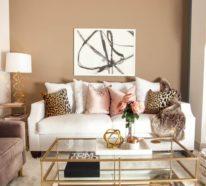 Unsere Wohnzimmer Deko Ideen Fr Ein Verblffendes Ambiente