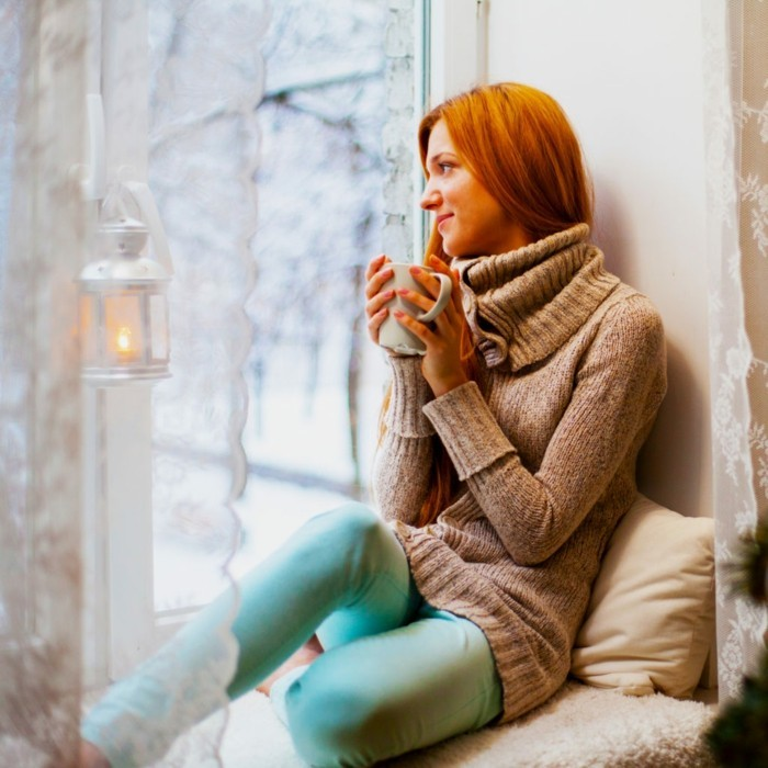 winterdekoraton entspannung