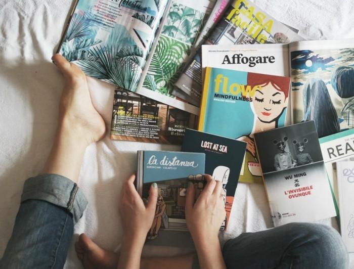 winterdekoration lesen hobby haben