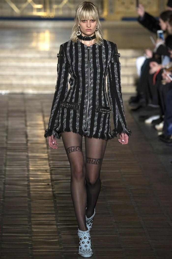 wintersaison trendige mode hose kleid mantel winterkollektion 2017 alexander wang