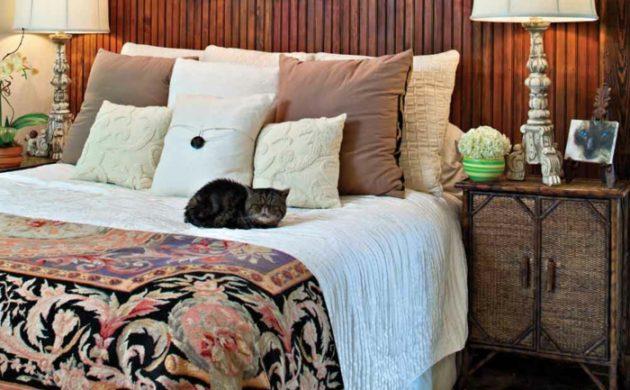 60 Schlafzimmer Ideen Wandgestaltung Für Jeden Wohnstil: Wandtattoo Schlafzimmer