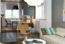 wohnideen-wohnzimmer-gelber-sessel-ecksofa-moderne-inneneinrichtung