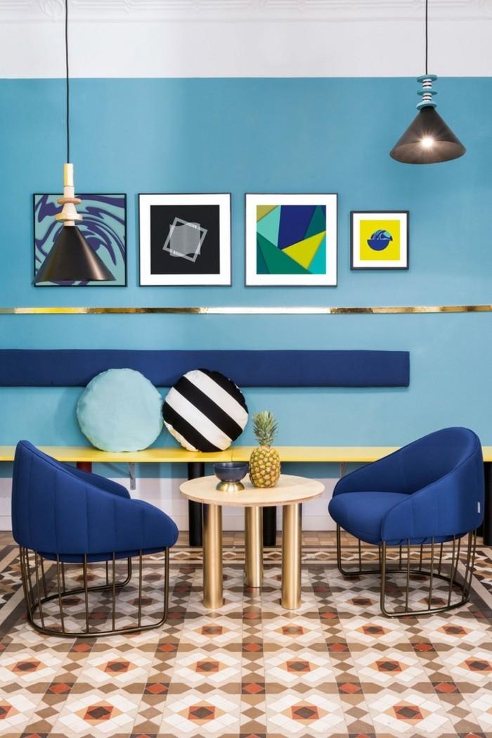 wohntrends 2017 gestaltungsideen wohnzimmereinrichtung wohnzimmergestaltung farbkombinationen pantone einrichtung farben