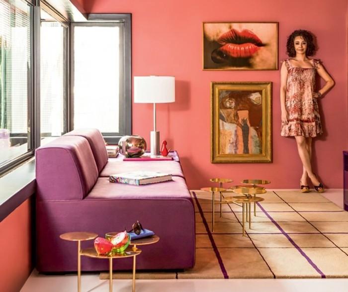 wohntrends 2017 gestaltungsideen wohnzimmereinrichtung wohnzimmergestaltung farbkombinationen pantone