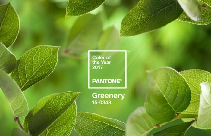 wohntrends 2017 wandfarbe farbtendenzen pantone greenery