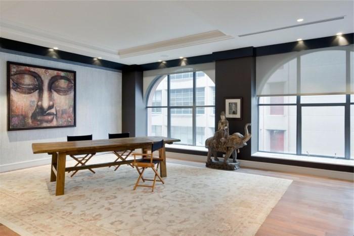 wohnungseinrichtungen die eine stimmungsvolle atmosph re schaffen. Black Bedroom Furniture Sets. Home Design Ideas