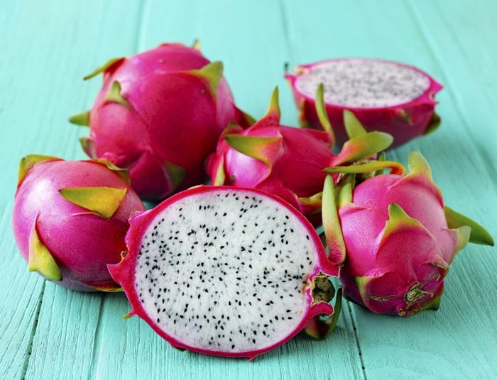 Drachenfrucht Gesundheit Antioxidant Sorten profil detail