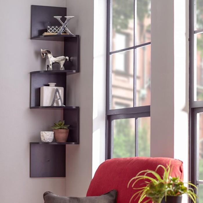 Eckregal Ikea Eckregal Selber Bauen Eckregal Holz Eckregal Wohnzimmer  Kreative Wandgestaltung Deko Ideen Diy Ideen10