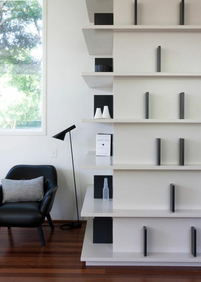 Eckregal ikea eckregal selber bauen eckregal holz eckregal wohnzimmer kreative wandgestaltung deko ideen diy ideen15