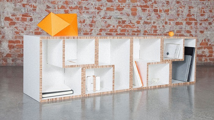 Raumgestaltung Ideen Basteln mit Papprollen DIY Ideen Deko Ideen Innendesigner lampe möbel aus pappe bettgestell47