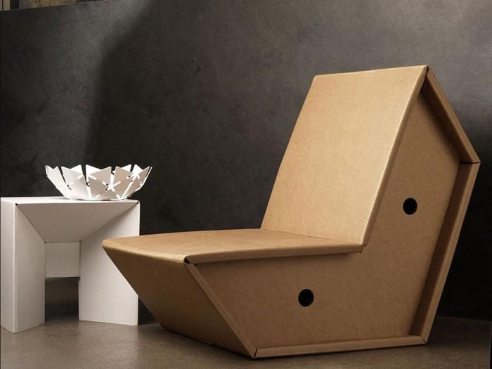 Raumgestaltung Ideen Basteln mit Papprollen DIY Ideen Deko Ideen Innendesigner lampe möbel aus pappe bettgestell50