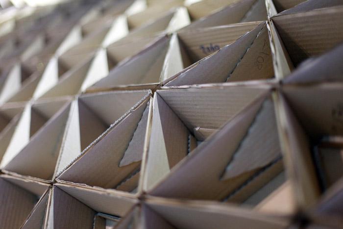 Raumgestaltung Ideen Basteln Mit Papprollen DIY Ideen Deko Ideen  Innendesigner Möbel Aus Pappe Recycling Ideen