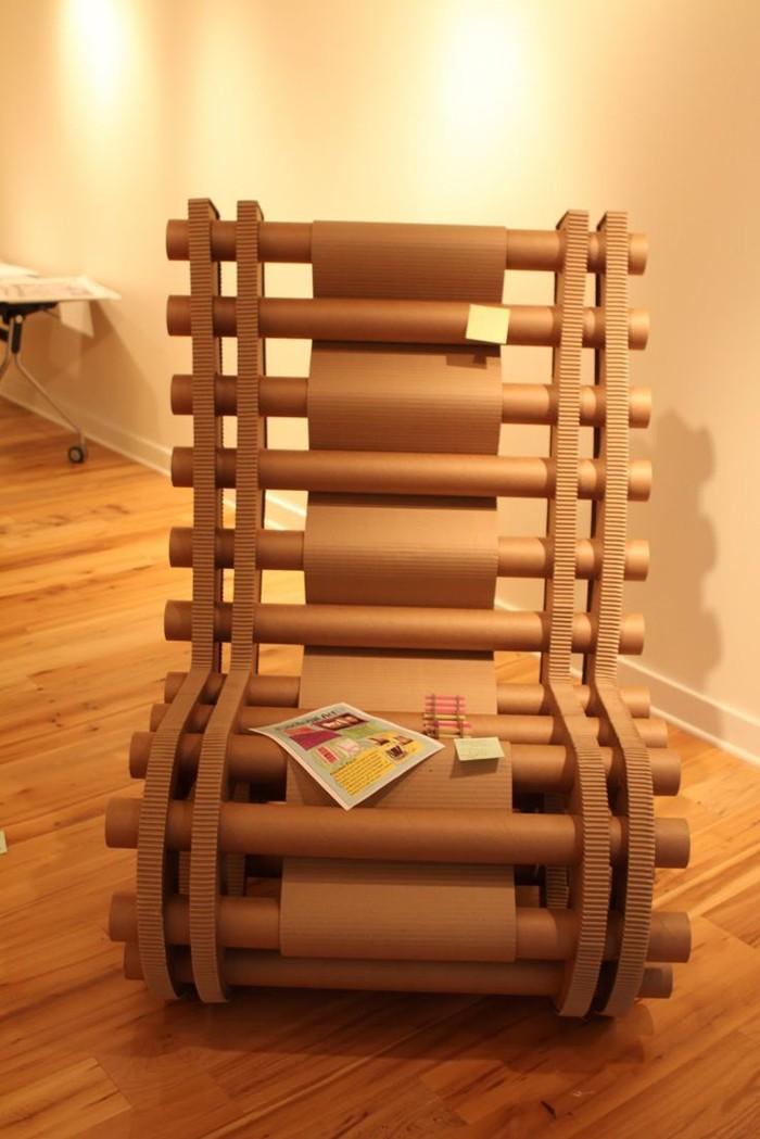 Raumgestaltung Ideen Basteln mit Papprollen DIY Ideen Deko Ideen Innendesigner11