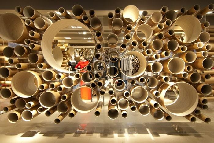Raumgestaltung Ideen Basteln mit Papprollen DIY Ideen Deko Ideen Innendesigner14