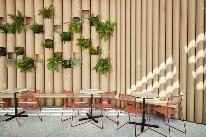 Raumgestaltung Ideen Basteln mit Papprollen DIY Ideen Deko Ideen Innendesigner möbel aus pappe recycling ideen2