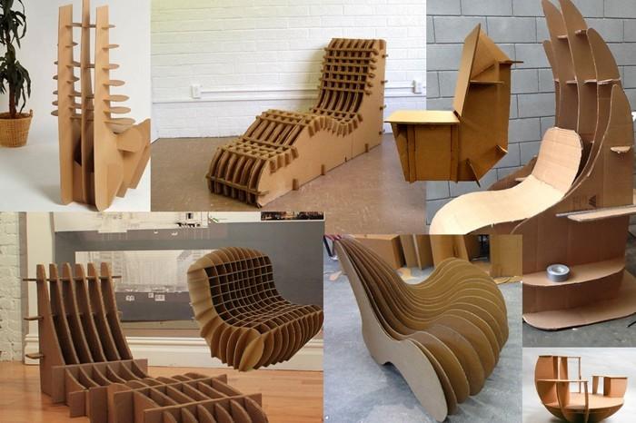 Raumgestaltung Ideen Basteln mit Papprollen DIY Ideen Deko Ideen Innendesigner20