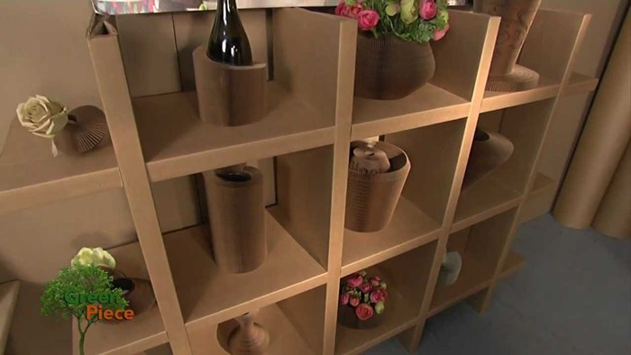 Raumgestaltung Ideen Basteln mit Papprollen DIY Ideen Deko Ideen Innendesigner22
