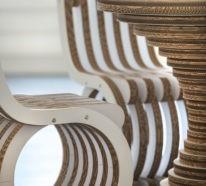 Über ökologische Nachhaltigkeit, Basteln mit Pappe und Kartonmöbel- 60 Recycling Ideen
