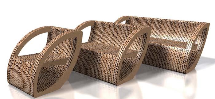 Raumgestaltung Ideen Basteln mit Papprollen DIY Ideen Deko Ideen Innendesigner29