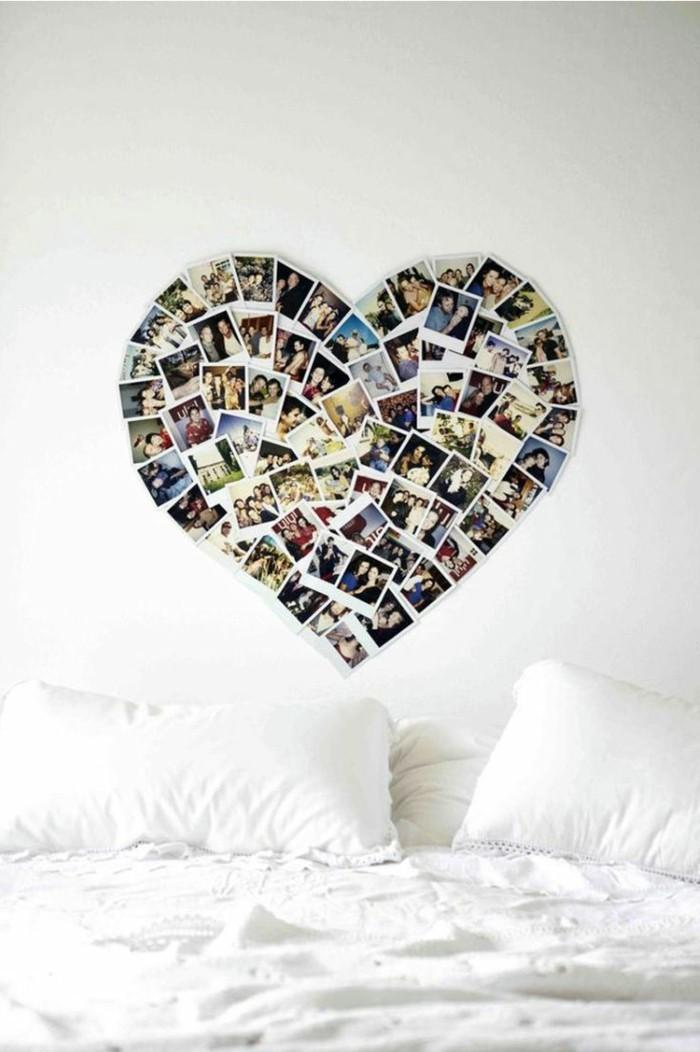 alles liebe zum valentinstag wanddeko ideen herz schlafzimmer fotos