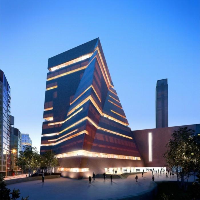 architekturstile london museum erweiterung