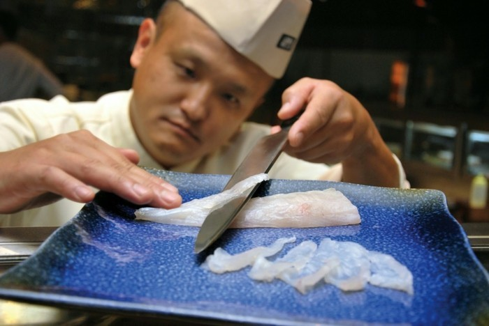 außergewöhnliches essen kochen fugu