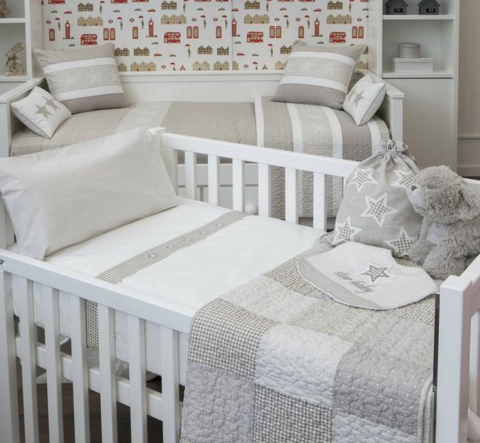 babybettwäsche-textura-heimtextilien-beige-sterne-kissenbezug-bettlacken