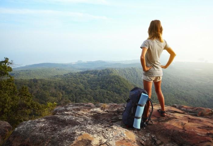 backpack reisen alleine