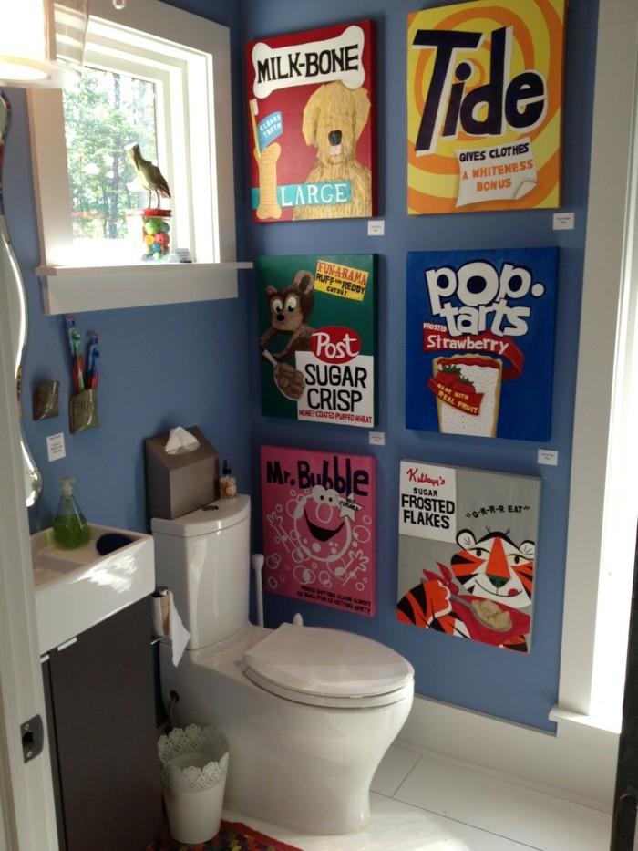 badezimmer pop art