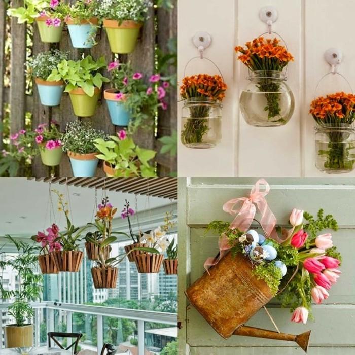 balkon gestalten tipps balkonpflanzen upcycling ideen