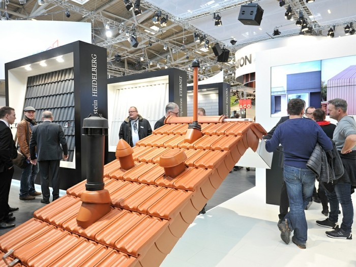 baumesse münchen bau 2017 highlights dachziegel innovativ