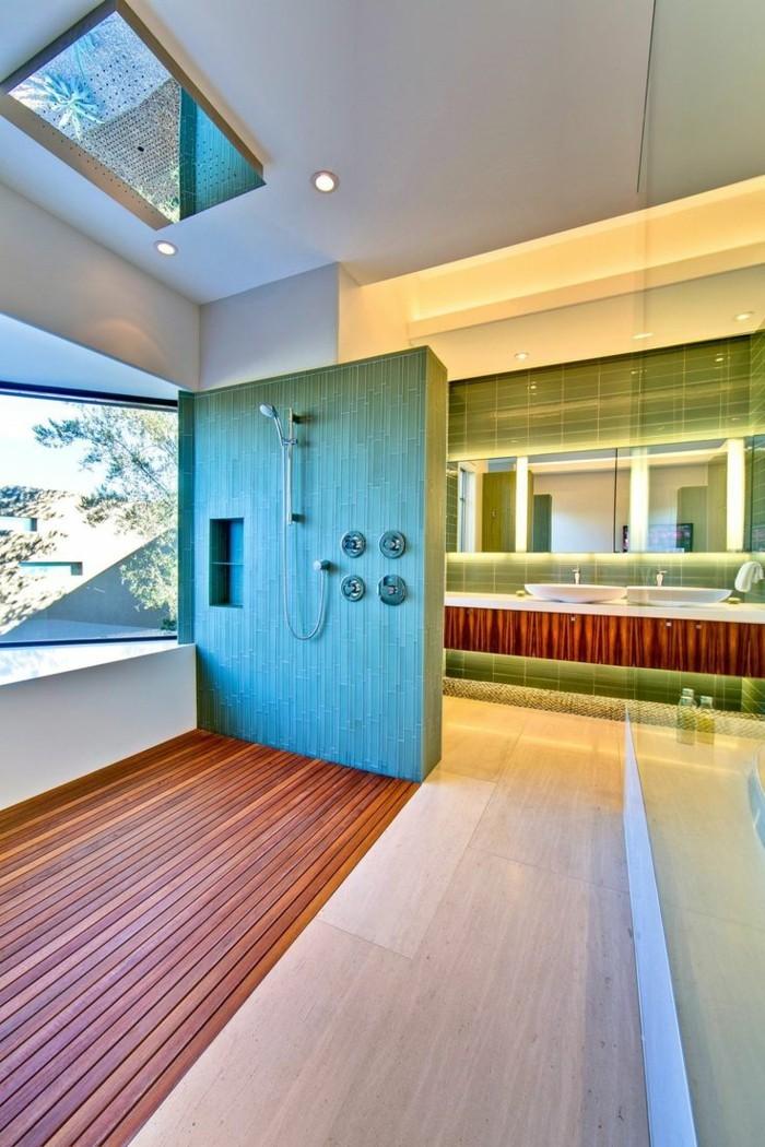 beleuchtungsideen badezimmer led leisten
