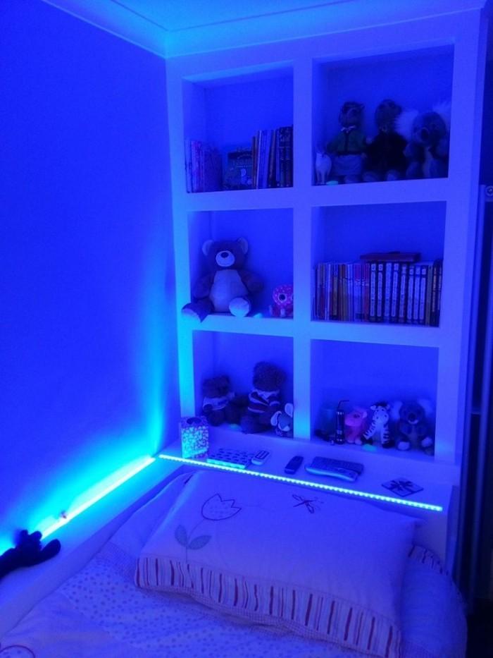 beleuchtungsideen kinderzimmer beleuchten led leisten
