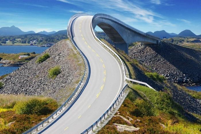 beruehmte bruecken norwegen storseisundet