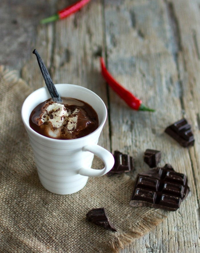 chili heisse schokolade