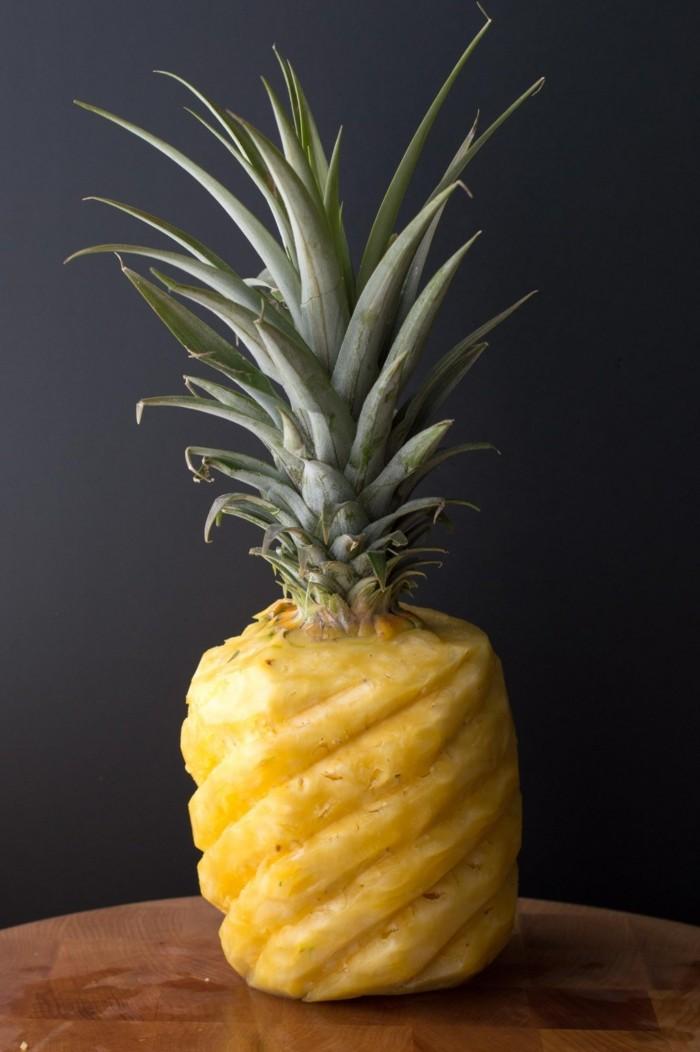 diy deko ananas schnitzen ideen