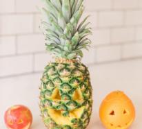 Obst schnitzen- Kreative DIY Dekoideen mit Obst