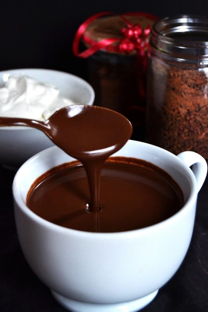 dunkle heisse schokolade gesund