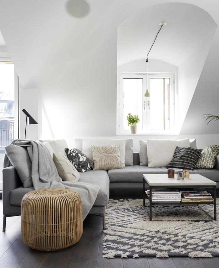einrichtungsbeispiele 50 graustufen wohnideen design ideen gestaltungsideen in grau14