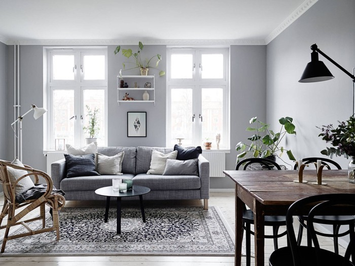 einrichtungsbeispiele 50 graustufen wohnideen design ideen gestaltungsideen in grau18