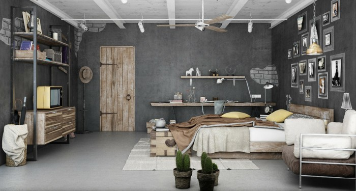 einrichtungsbeispiele 50 graustufen wohnideen design ideen gestaltungsideen in grau20