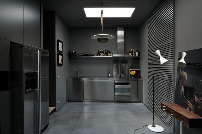 einrichtungsbeispiele 50 graustufen wohnideen design ideen gestaltungsideen in grau35