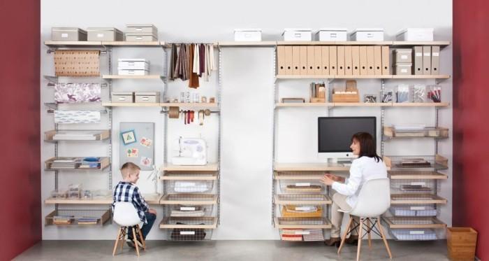 elfa aufbewahrungssysteme regalsysteme home office kinderzimmer