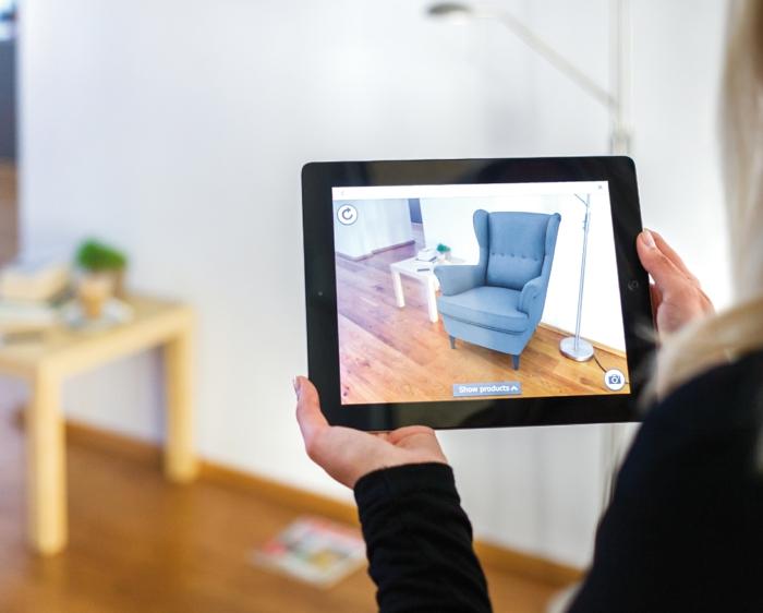 erweiterte realität ar augmented reality app ikea katalog