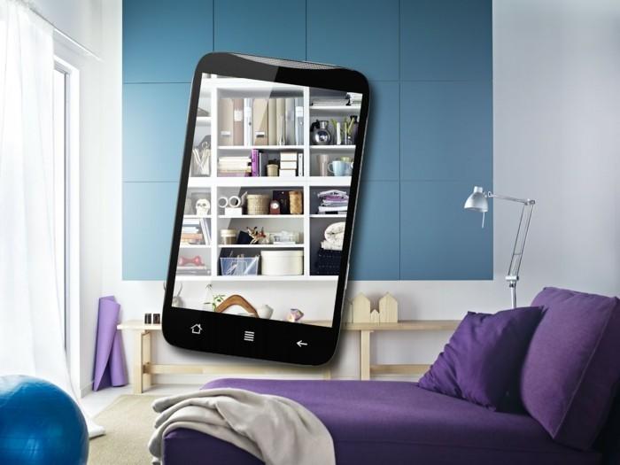 erweiterte realität ar augmented reality app interior design einrichten